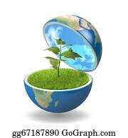 Plant-Life - Plant Inside Planet