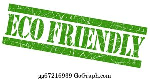Eco-Friendly-Label - Eco Friendly Green Grunge Stamp