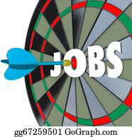 Bullseye - Jobs Career Dartboard Dart Successful Employment