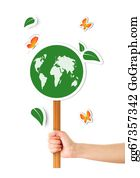 Ecological-Awareness - Hand Holding Ecological Sign