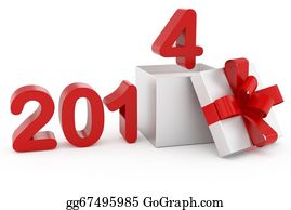 2014-Happy-New-Year-Box - New Year Title 2014 And Silver Gif