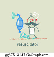 Cpr - Resuscitation With Oxygen Mask