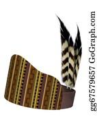 Apache - Native American Feather Headdress