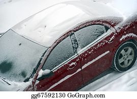 Freezing-Cold - First Snow On Car