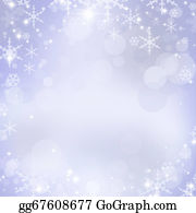 Falling-Snow-Background - Abstract Christmas Background With Snowflakes