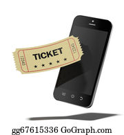 Admission-Ticket - Smart Phone And Cinema Ticket