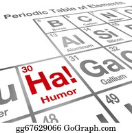 Humor - Ha Humor Element Periodic Table Funny Laughter Comedy