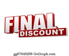 Time-For-Shopping - Final Discount Red White Banner - Letters And Block