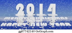 Calendar-For-January-2014 - 2014 New  Year 3d