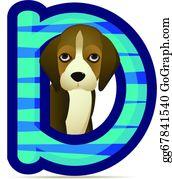 Barking-Dog - Dog With Alphabet D