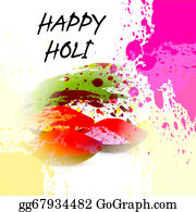 Holi-Festival-Celebration - Beautiful Grunge Holi Festival Colorful Vector Background