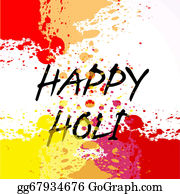 Holi-Festival-Celebration - Holi Festival Colorful Background Vector