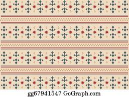 Apache - Native Pattern - Vintage Pattern