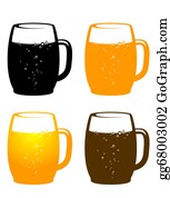 Beer - Colorful Beer Mug