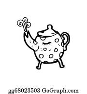 Tea-Pot - Cartoon Tea Pot