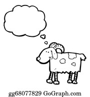 Goat-Cartoon - Cartoon Goat