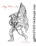 Veterans-Day - American Veterans Day Remembrance Greeting Card