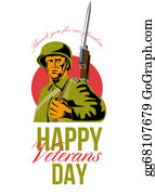 Veterans-Day - Veterans Day Greeting Card American Wwii Soldier
