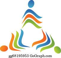 Rounded-Triangle - Teamwork Triangle Logo