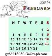 Calendar-For-January-2014 - Horse Calendar 2014 February