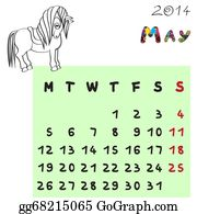 Calendar-For-January-2014 - Horse Calendar 2014 May