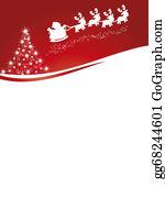 Reindeer-Christmas-Silhouettes - Christmas Card
