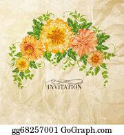 Chrysanthemum - Chrysanthemum Garland.