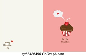 Best-Friends - Muffin And Cherry Best Friends. Happy Valentines