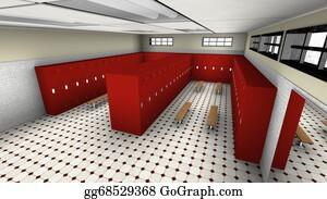 Changing-Rooms - Locker Room