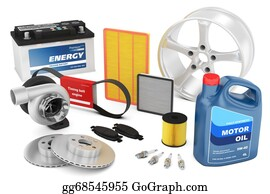 Time-For-Shopping - Set Of Auto Parts