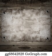 Tack - Old Western Wanted Poster On Wooden Background