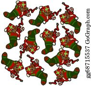Nutcracker-Illustration - Christmas Seamless Pattern