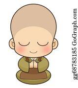 Buddhist - Buddhist Monk, Japan.