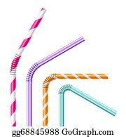 Plastic Straw Clip Art Royalty Free Gograph
