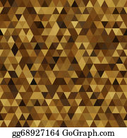 Rounded-Triangle - Triangle Imitation Gold