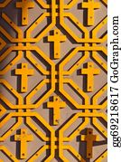 Orthodox - Orthodox Pattern With Crosses