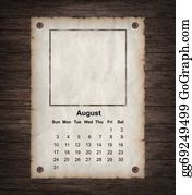 Calendar-For-January-2014 - Calendar 2014, Vintage Paper
