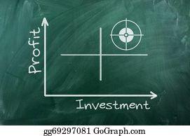 Text-Dividers - Profit Investment  Diagram