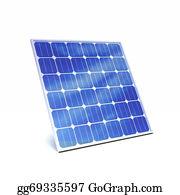 Solar-Panel - 3d Solar Panel