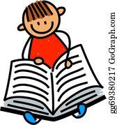 Boy-Reading - Little Boy Reading