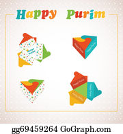 Purim - Template Of A Purim Box For Purim Gift