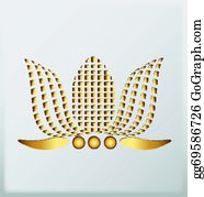 Golden-Lotus-Flower-Logo - Gold Lotus Company Logo