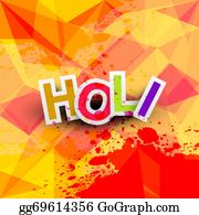 Holi-Festival-Celebration - Beautiful Background Of Indian Festival Colorful Holi Texture Vector