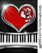 Music-Notes-On-Piano-Keyboard - I Love Music