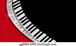 Music-Notes-On-Piano-Keyboard - Music Vintage Business Card