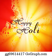 Holi-Festival-Celebration - Illustration Of Colorful Happy Holi Festival Background Vector