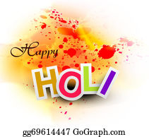 Holi-Festival-Celebration - Beautiful Abstract Bright Colorful Holi Card Festival Background