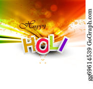 Holi-Festival-Celebration - Indian Festival Happy Holi Splash Bright Colorful Celebrations Vector Design