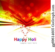 Holi-Festival-Celebration - Indian Festival Happy Holi Splash Colorful Celebrations Background Vector