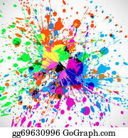 Holi-Festival-Celebration - Beautiful Grunge Colorful Splash Card Of Indian Festival Holi Background